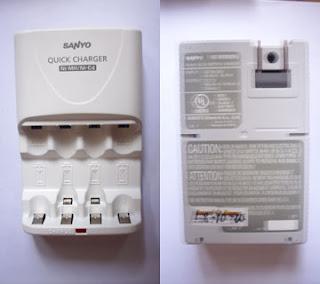 (NC-MQR02N) Ni-MH/Ni-Cd charger