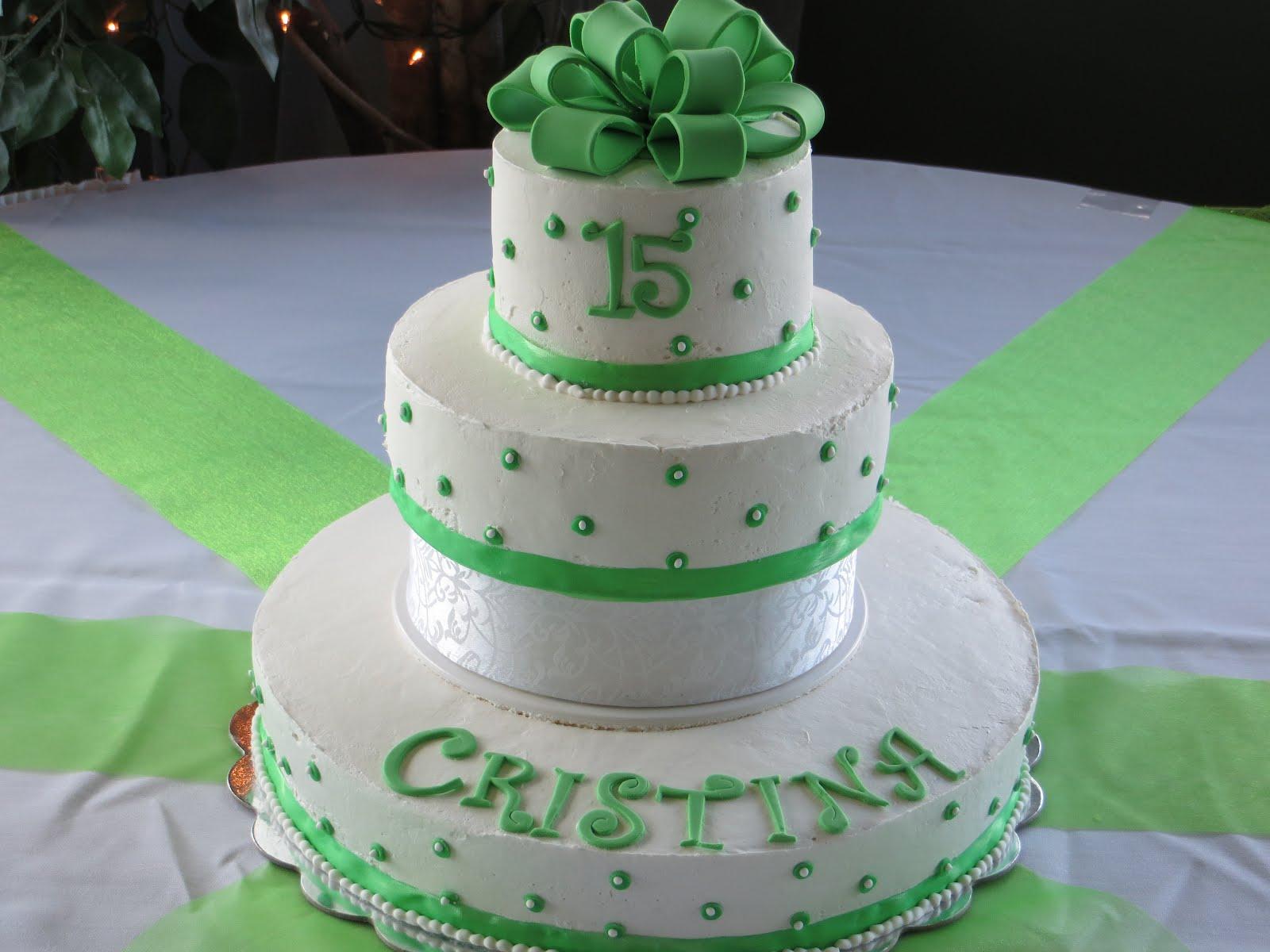 Sweet 15 Cakes