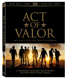 Act Of Valor DVD case