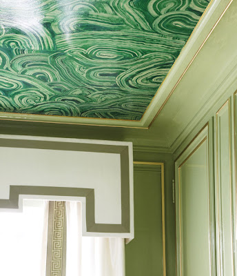 stylebeat going green a verdant lake forest showhouse