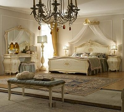 bedroom designs - Marie Antoinette Style theme decorating ideas