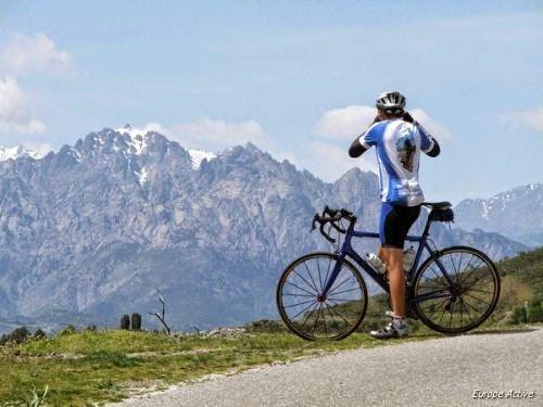 Sortie en vélo avec Europe active