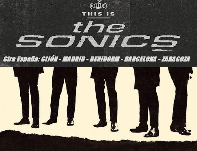 THE SONICS - Gira española Octubre 2015