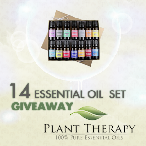 14 Essential Oil Set Giveaway From Plant Therapy and Giveaway Monkey
