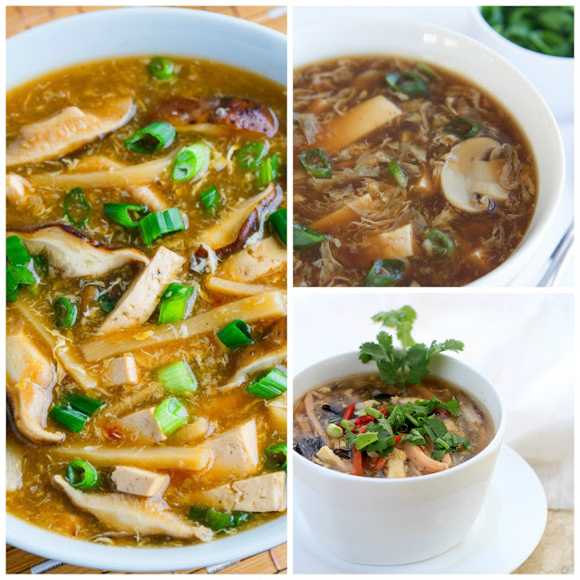 My cooking to do list - I want to challenge myself to make the things I've always wanted to this year including hot and sour soup