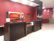 Front desk-Hilton Garden Inn