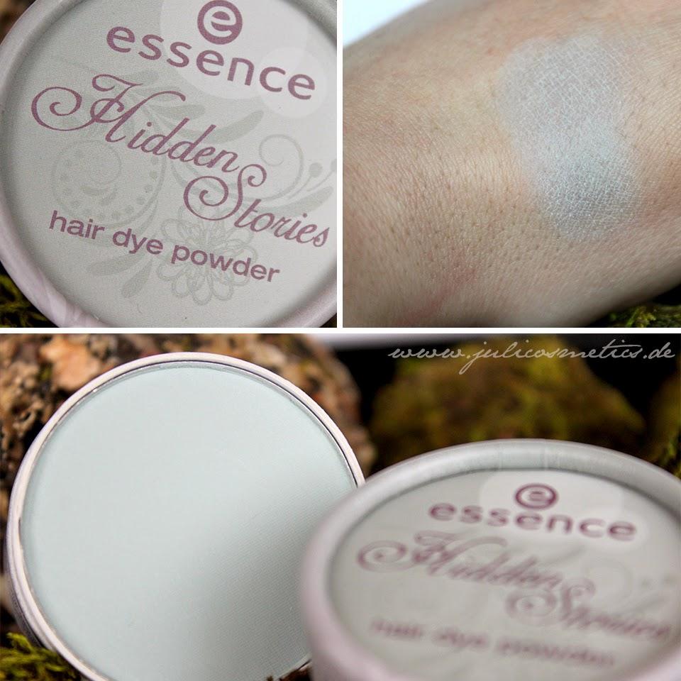 essence - Hidden Stories - hair dye powder - 02 Enchanted by hint of mint