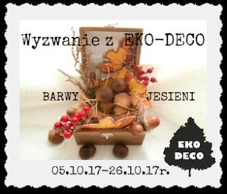 Wyzwanie EKO-DECO - Barwy jesieni