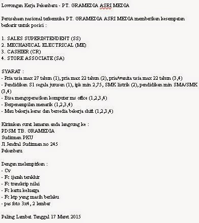 PT. GRAMEDIA ASRI MEDIA