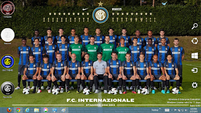 2013 Inter Milan Fc Windows 7 Theme, 2013 Inter Milan Fc Windows 8 Theme