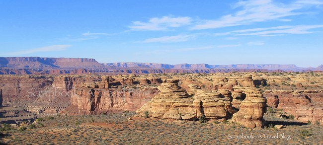 Needles in Canyonlands National Park