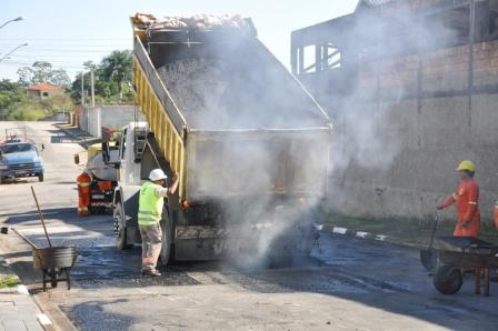 Cecap tem sete ruas recapeadas em Registro-SP
