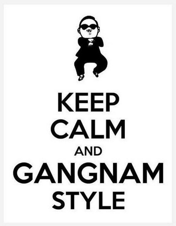 Gangnam Style coloring book