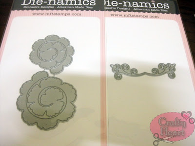 My Favorite Things - Die-namics Die - Mini Royal Rose and Vintage Flourish