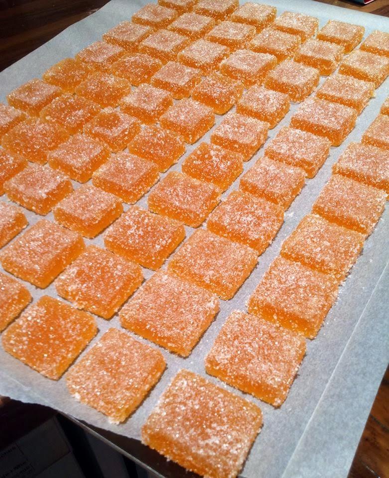 Croque en bouche p tes de fruits abricot passion for Acide tartrique en cuisine