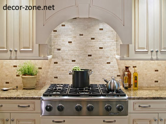 20 kitchen backsplash tile ideas in metro style - Creative tile kitchen backsplash ideas ...