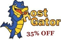 HostGator Special Offer - 35% OFF