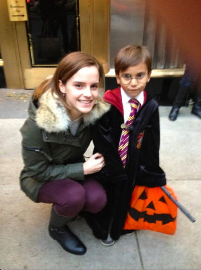 this little blurb comes from a reader in new york city despite all that has gone on in new york this week there were still kids who wanted to go trick or - Halloween For Kids In Nyc