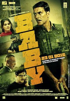 Poster Of Bollywood Movie Baby 2015 300MB BRRip 720P Full Hindi Movie