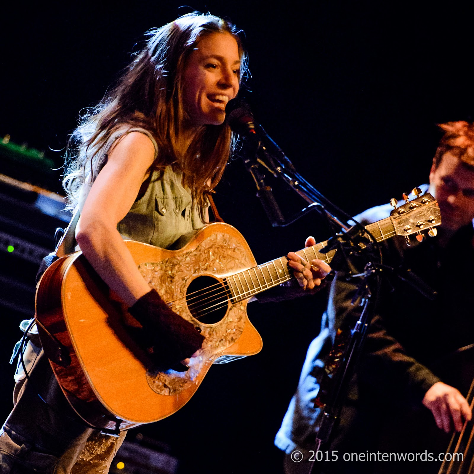 Ani DiFranco at The Danforth Music Hall February 2, 2015 Photo by John at One In Ten Words oneintenwords.com toronto indie alternative music blog concert photography pictures