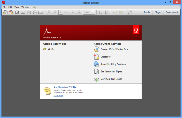 Adobe Reader 11: the essential PDF viewer
