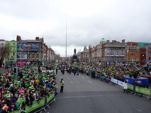 mejor lugar para ver St Patricks Day en Dublín