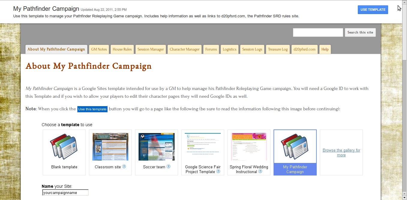 The geek flag google sites templates for pathfinder google sites templates for pathfinder maxwellsz