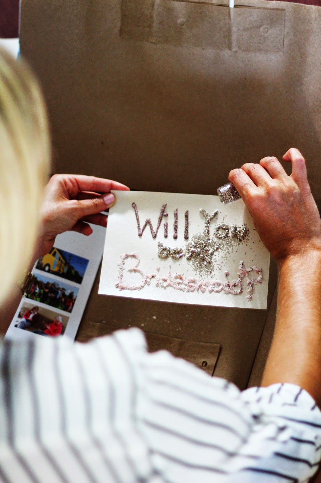 Will you be my bridesmaid, Wedding, How to ask Bridal Party
