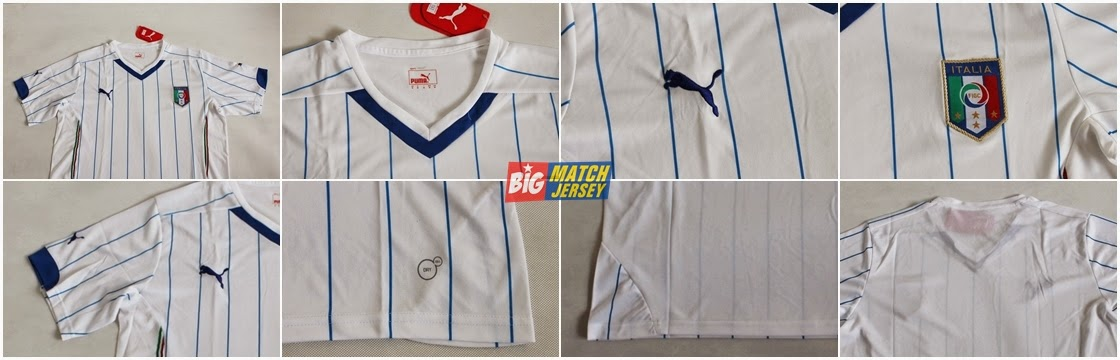 Detail Jersey Italy Away Kids Thailand Soccer Jersey