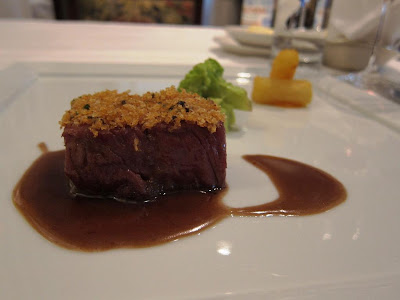 Wagyu beef at Le Papillon