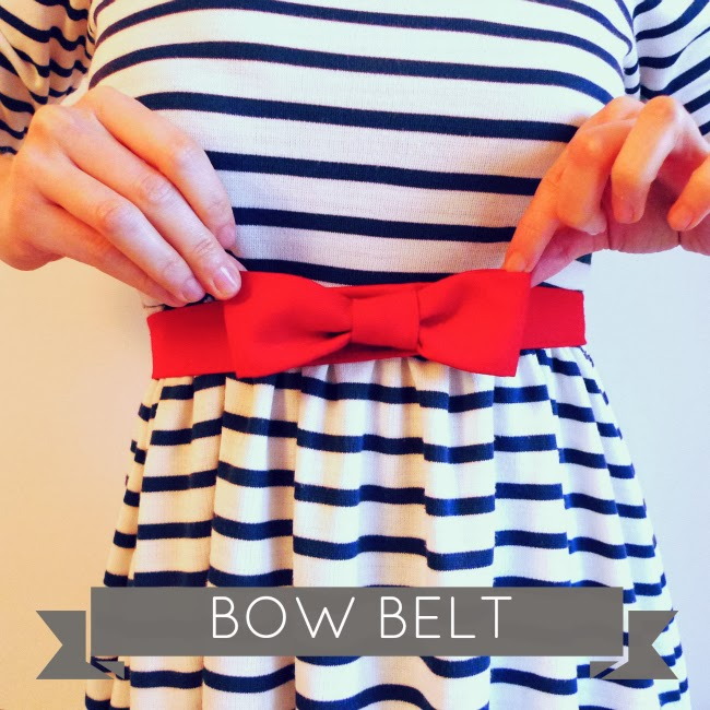 Tilly and the Buttons Bow Belt