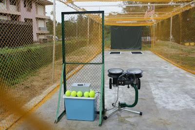 Perasmian Batting Cage dan Pitching Machine Sofbol di SMK Tanah Putih, Pahang