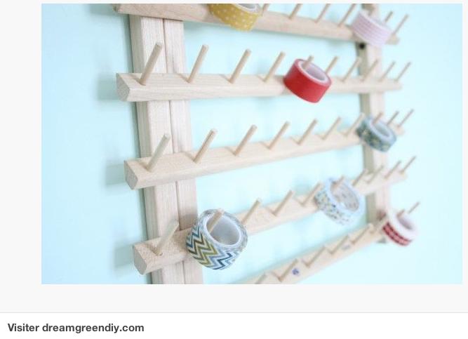 Rangement bobine de fil 28 images support mural for Rangement fil de couture