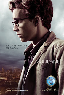 Mundane Mortal Instruments City of Bones Poster