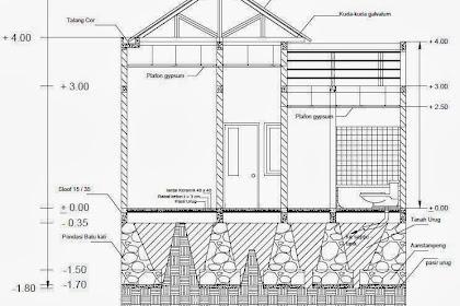 Paket Desain Rumah Autocad 2d sketcup 3d hemat Lengkap bisa untuk urus IMB