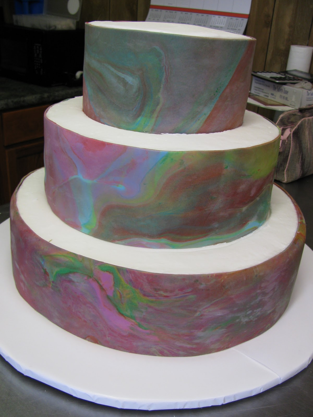 Cakes by diane drum cake for Bakery crafts sps tier system