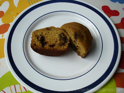 pumpkin chip muffins