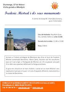 17 febrer - Visita Frederic Mistral