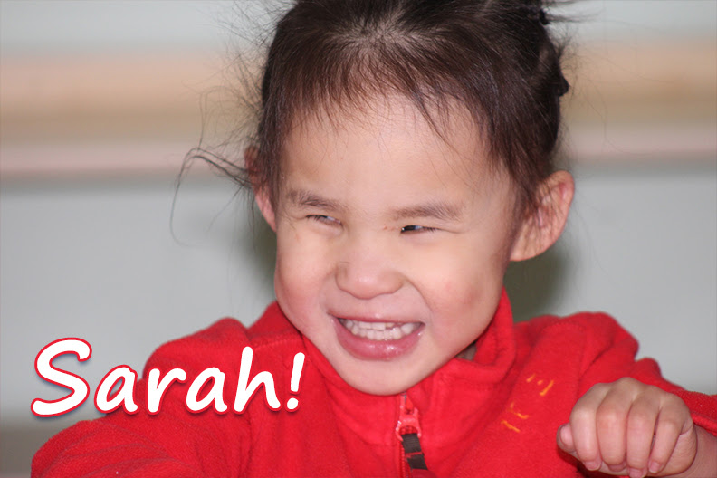 June 9th, 2018: Sarah! (China)