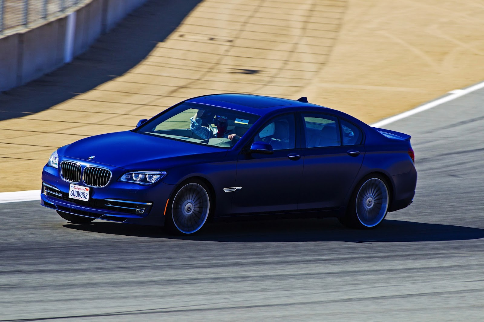 The 2013 alpina b7 s v8 produces 540 horsepower with 538 ft lb of torque and a top speed of 312km h 194 mph a full gallery after the jump