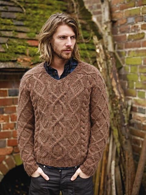 tricot-pull-homme-rowan-torsades