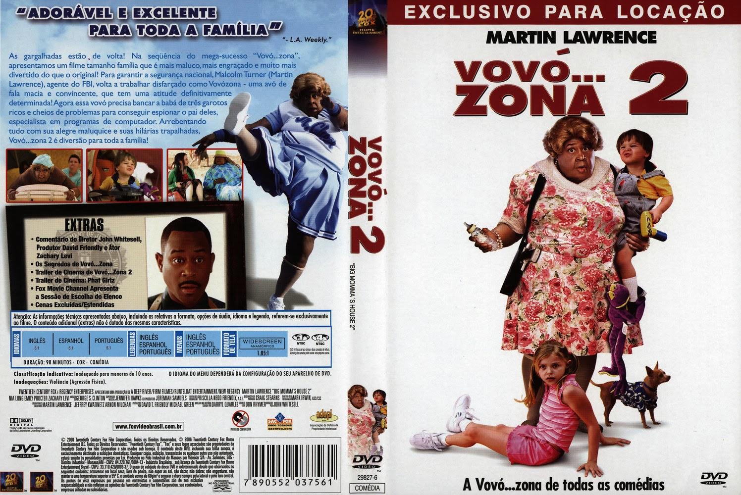 Vovó... Zona 2 DVD capa