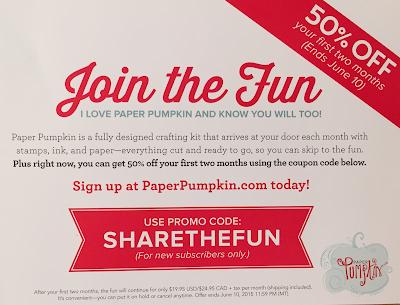 MidnightCrafting Promo Code Discount Code Paper Pumpkin 2015