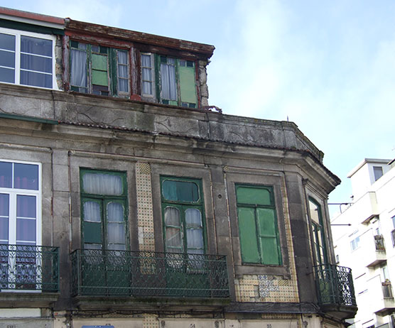 old derelict building porto portugal city guide