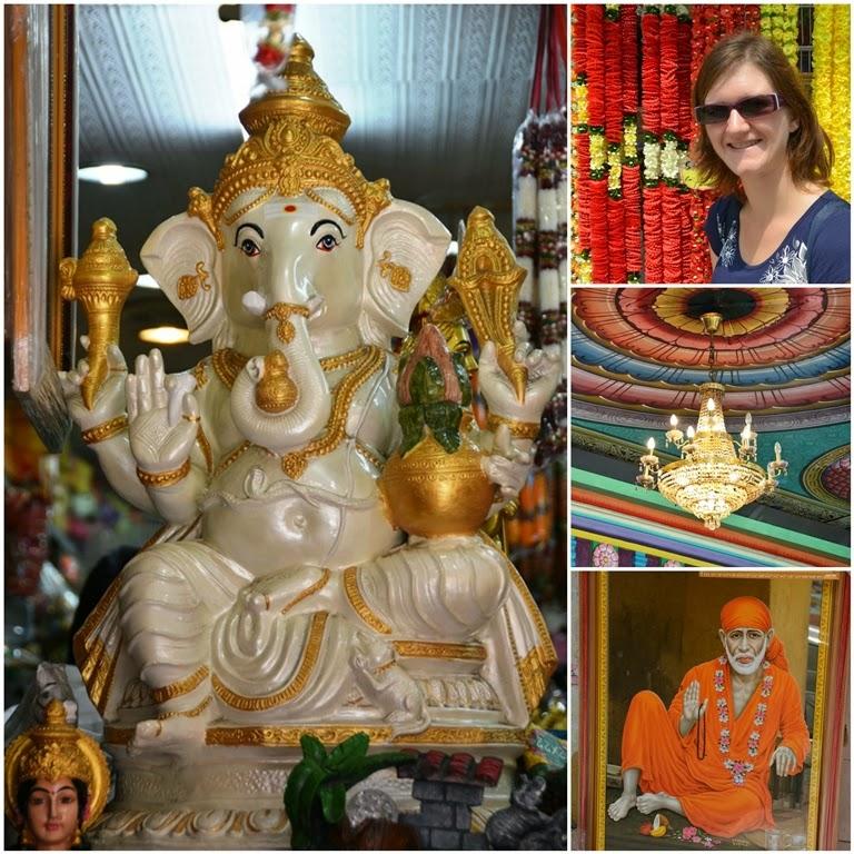 Little India Kuala Lumpur collage