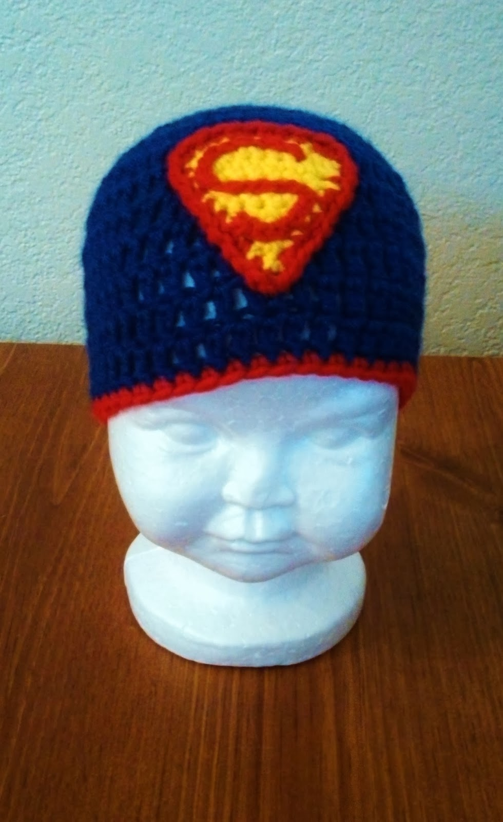 Butterfly\'s Creations: Superman Beanies