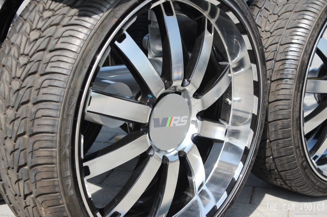 Skoda vRS 20 inch alloy wheels