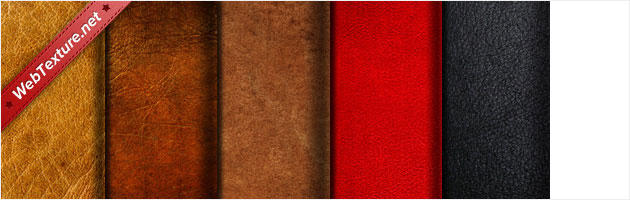 5 Vintage Grungy High Quality Leather Textures