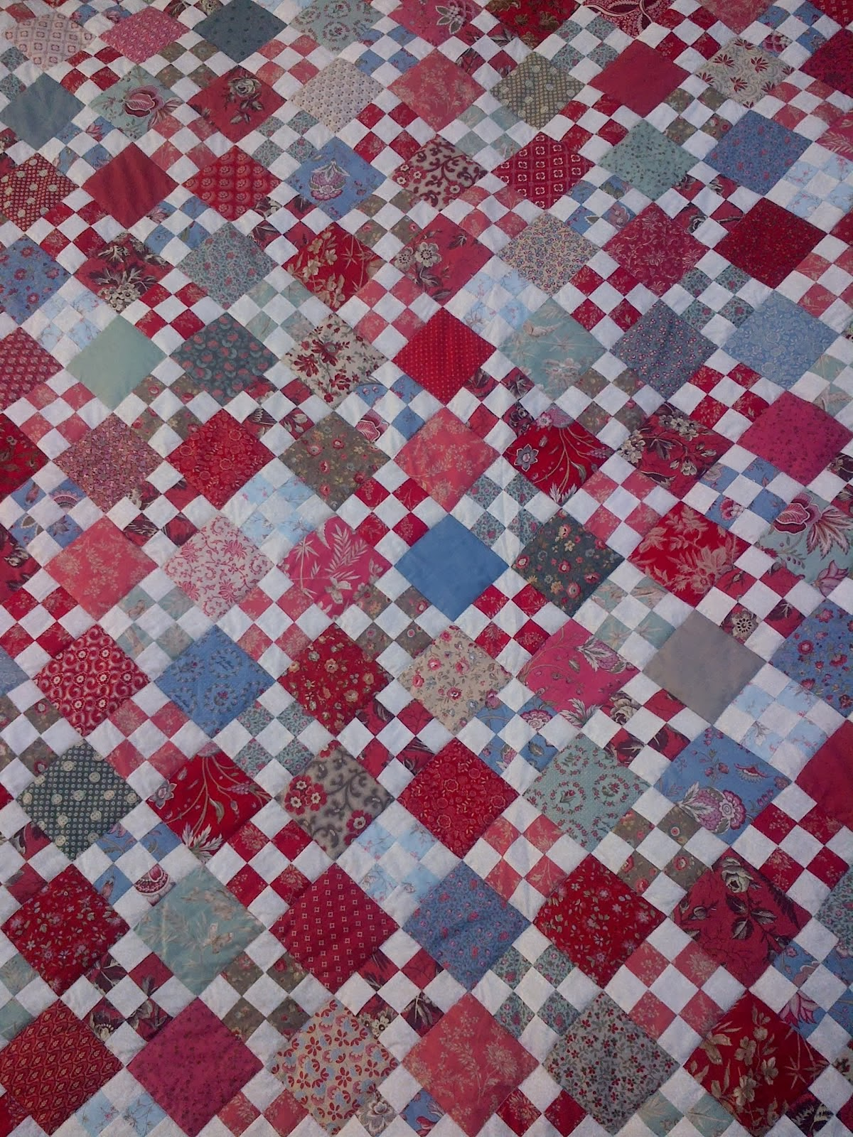 French Nine-patch Quilt