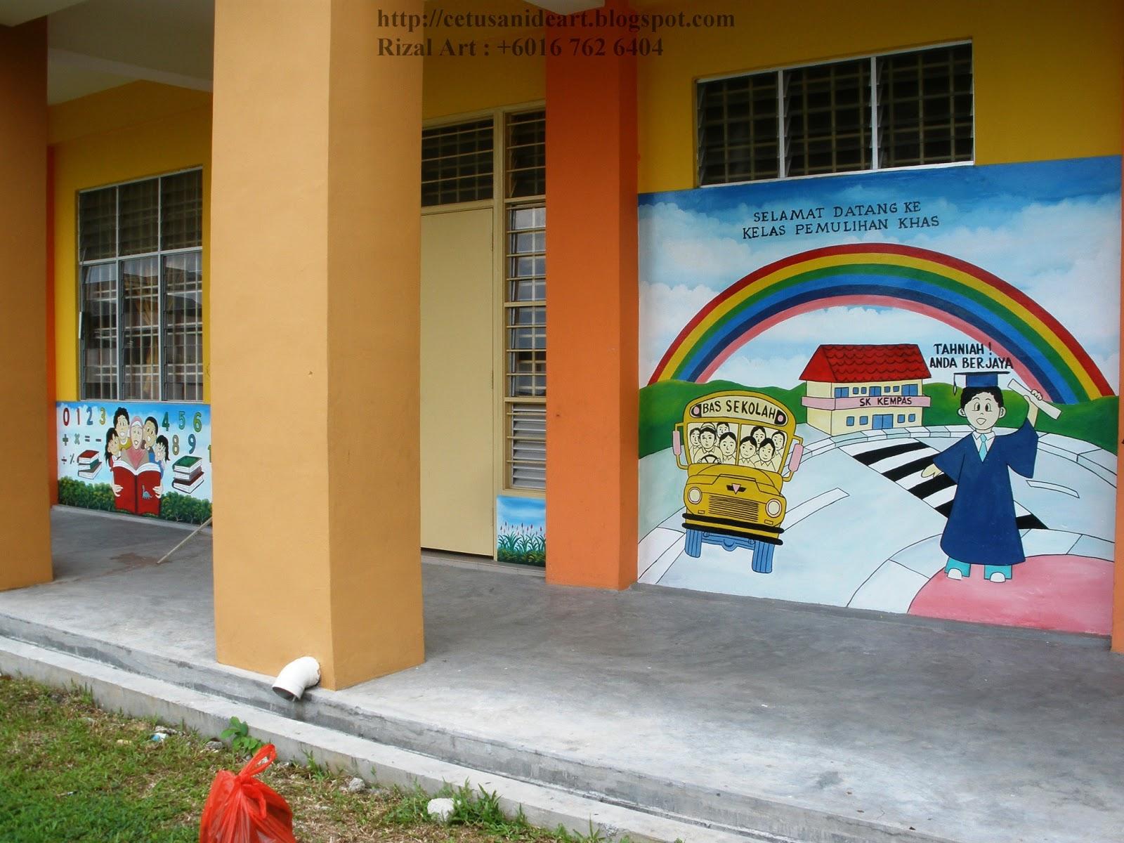 Mural art cetusan idea sample image mural prasekolah for Mural untuk taska